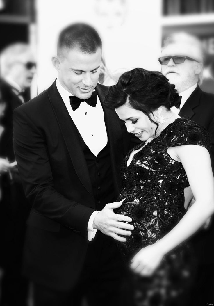 Channing Tatum and Jenna Dewan 2013