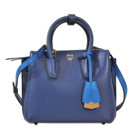 MCM Milla Mini Bag. #mcm #bags #shoulder bags #hand bags #canvas #leather #tote #