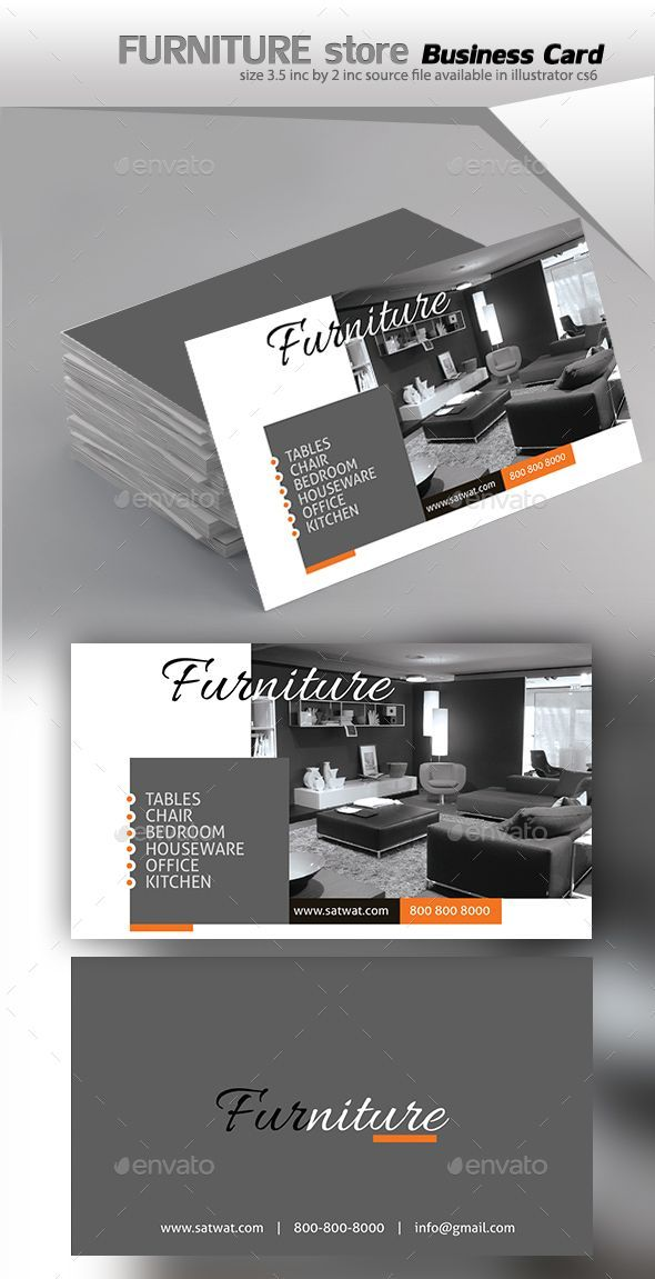 Furniture Business Card Printing Business Cards Visiting Card Design Examples Of Business Cards