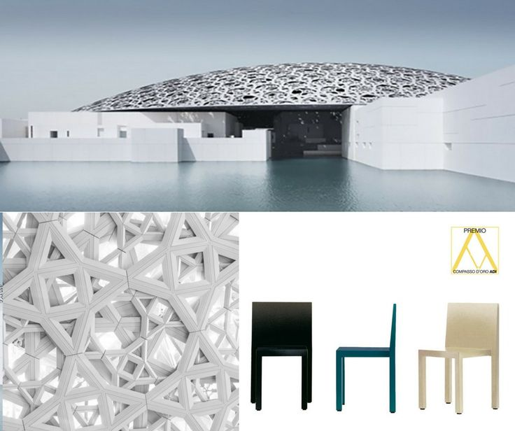 UNO, chair designed by Bartoli Design, winner of the XXI Compasso d'Oro, brings the best of the Italian design and manufacturing to the newly opened Louvre Abu Dhabi, designed by the architect Jean Nouvel.  UNO chairs were used in the Museum Staff Dining Area.