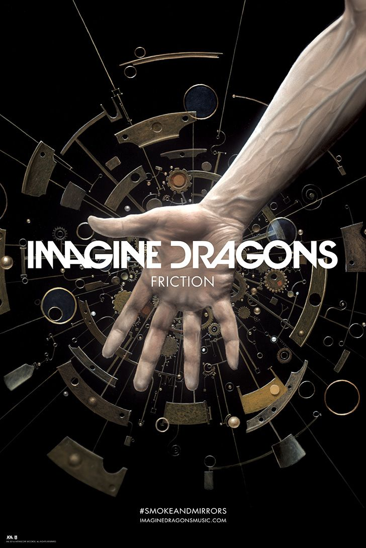 Friction Exclusive Lithograph | Imagine Dragons