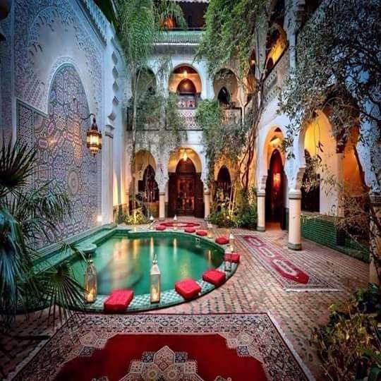 25 Best Moroccan Garden Ideas On Pinterest Moroccan