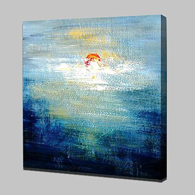 Hand Painted Canvas Oil Painting Modern Abstract Wall Art Picture With Stretched Frame Ready To Hang 5076728 2017 – £38.97