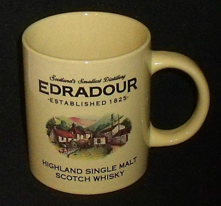 "www.jaedasplaythings.com Edradour Whisky Mug Cup By Glencairn 3.75"" Scotland Single Malt Vtg #Edradour"