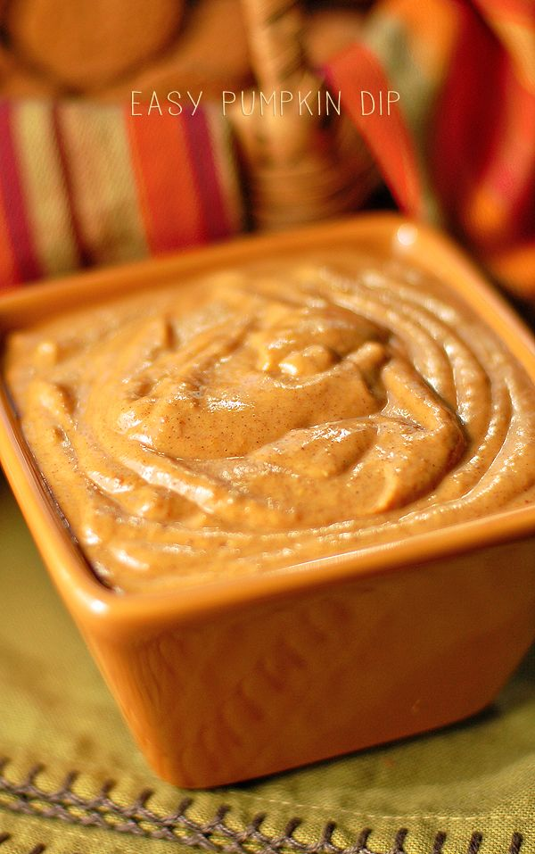Easy Pumpkin Dip: we had this at our wedding, yum!! Tried it today as a snack for B and used honey to sweeten. Still yum!
