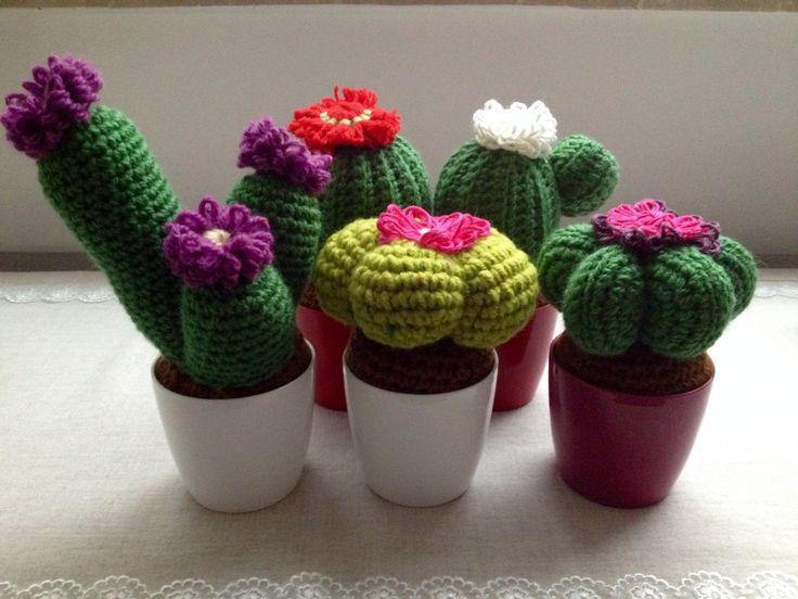 Cactus amigurumi crochet