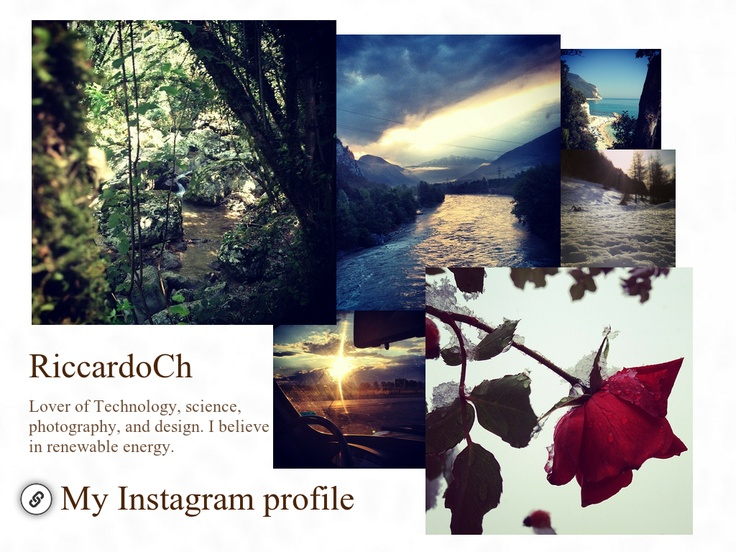 INSTAGRAM | RiccardoCh - Created on Tactilize