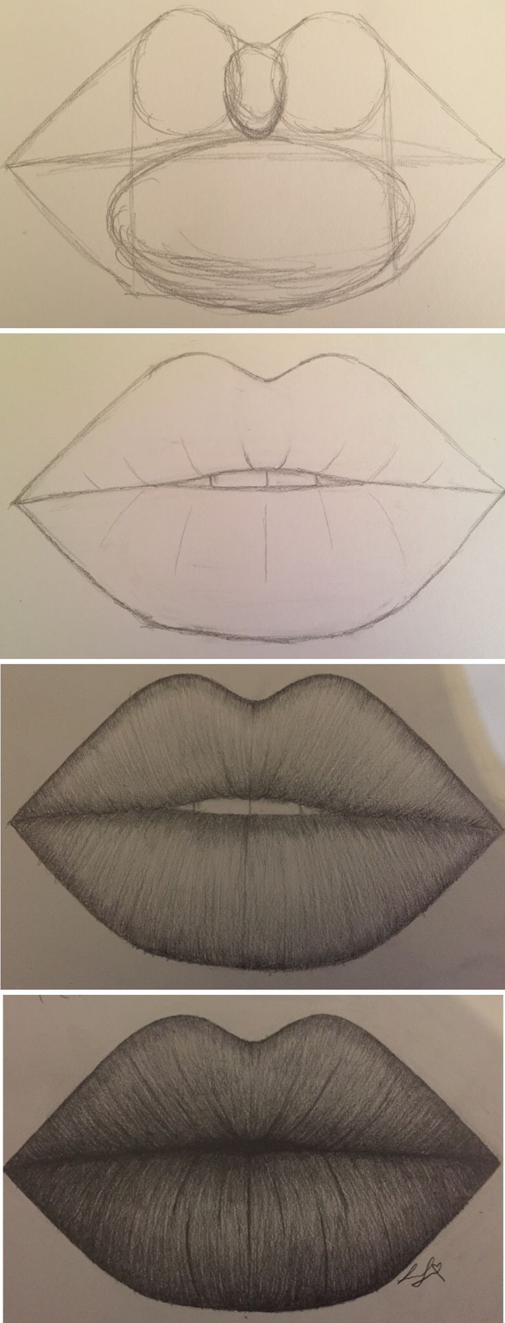 Guide Lines for lips by Larissa Junghans