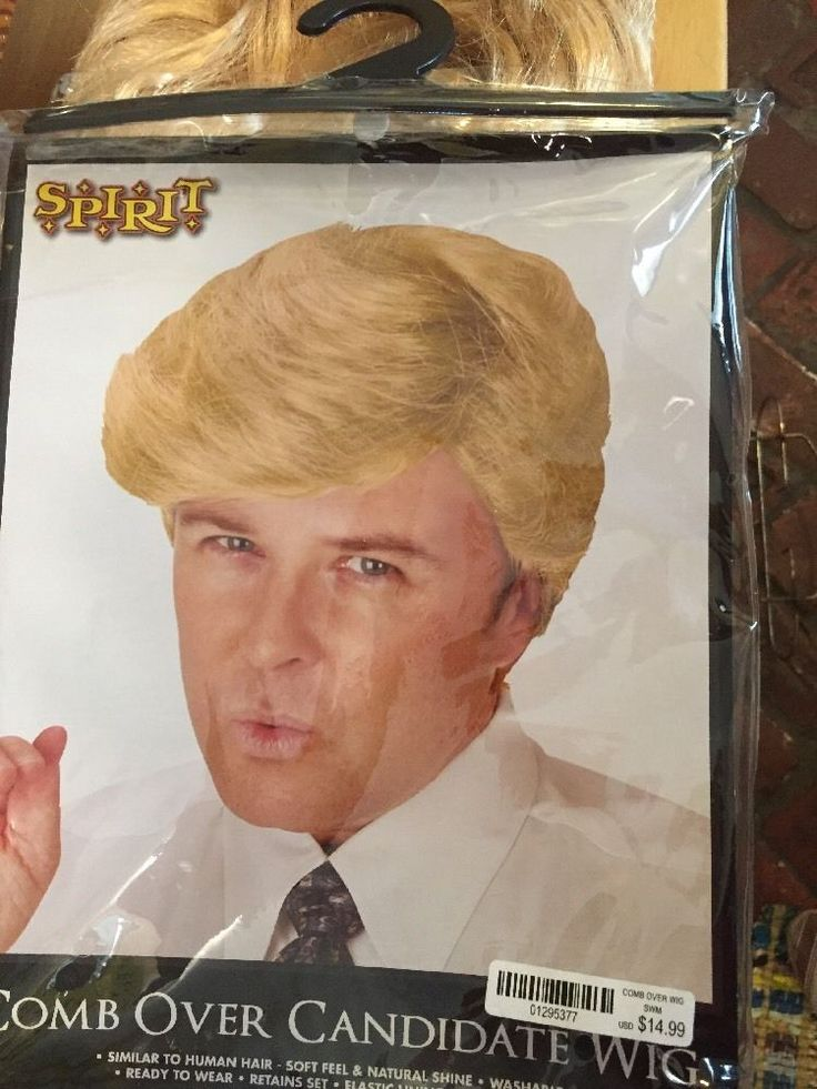 Donald Trump Wig Comb Over New With Tags