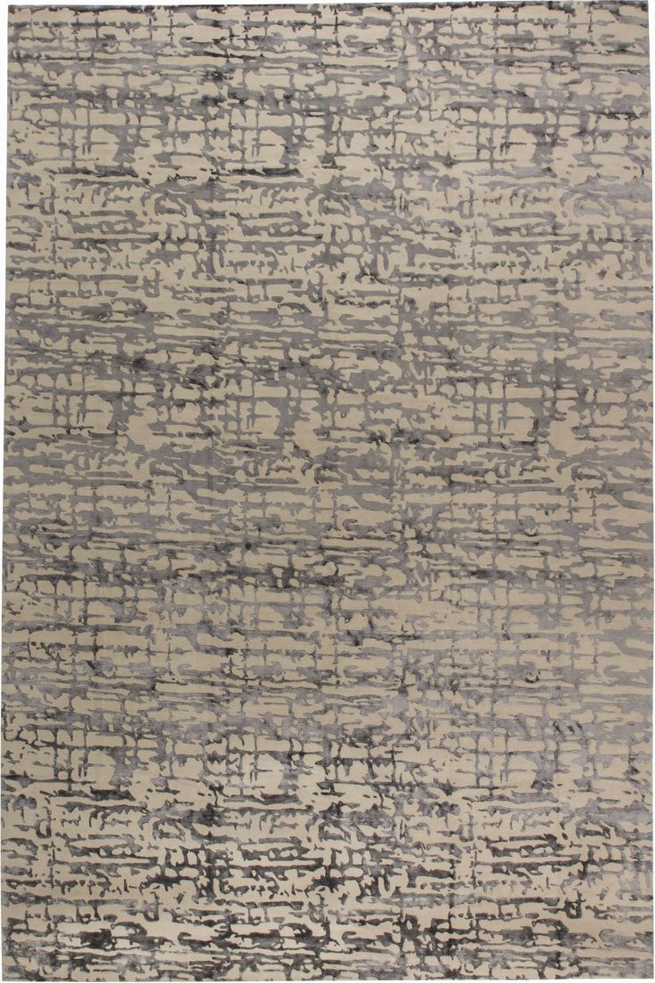 Contemporary Rugs: Contemporary rug grey modern style perfect for modern interior decor, modern living room