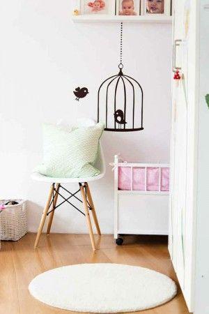16 best Kinderzimmer Inspiration images on Pinterest Deko, Good - wandsticker babyzimmer nice ideas