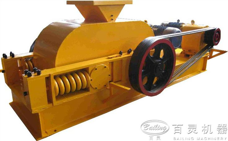 This series of 2-roller crusher can be applied in industrial sectors such as ore crushing ,chemical industry, cement, refractory, abrasive and construction industries to break ores and stones of high and medium rigidities, and particularly applied in the building material industry to produce pea gravel, which is with better effect than ordinary crushers.  http://www.bailingmachinery.com/products/crusher/12.html