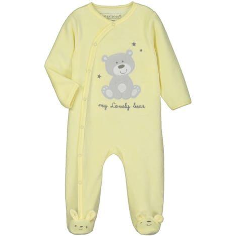 IN EXTENSO Pyjama velours Ours bébé