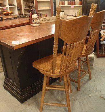 Genuine Amish Island. Amish FurnitureDining Table