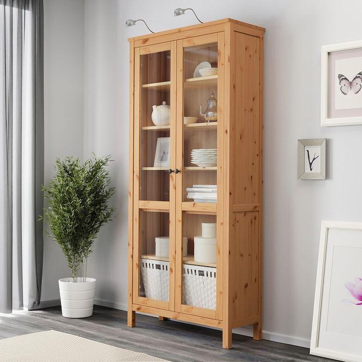 Ikea Hemnes Vitrine Glass Cabinet Doors Hemnes Ikea Bedroom Design