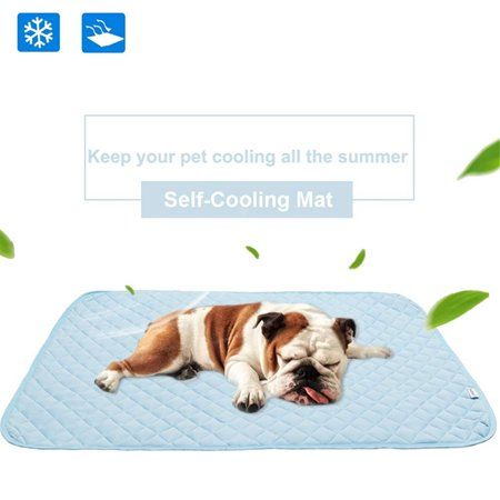 Dog Self Cooling Mat Small Pet Cats Dogs Cooling Pad With 3 Layers
