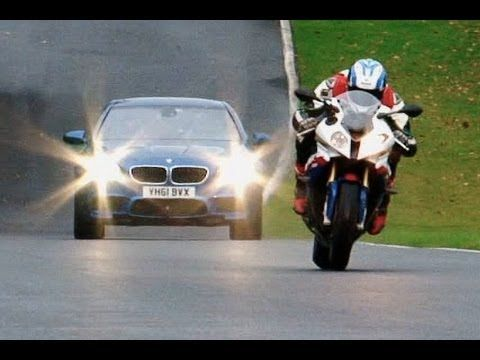 2012 BMW M5 vs BMW S1000 RR Motorcycle. by Haris.karat   www.webmahal.com