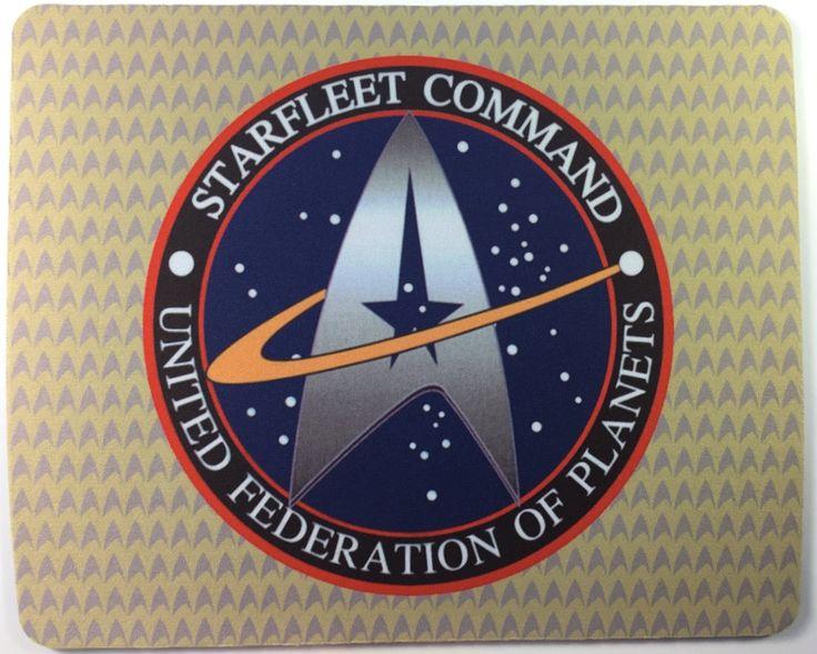 Star Trek Starfleet Command Mousepad