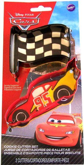 Wilton Disney Cars Cookie Cutter Set Cars Disney Party