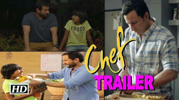 'Chef' TRAILER | Saif Ali Khan & Svar Kamble bond over food