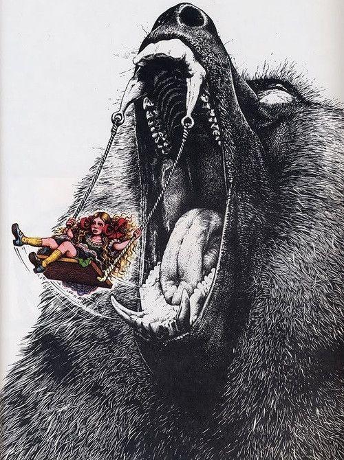 inspiration- a la puerta del lobo