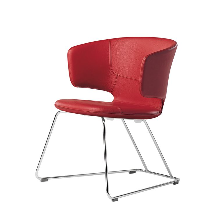 #RED #taormina chair by Alfredo Haeberli