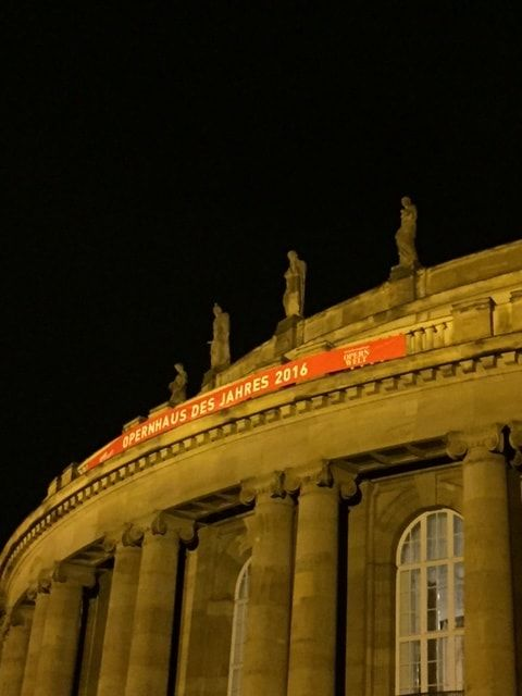 Oper Stuttgart, Oper des Jahres 2016 (Foto: Andrea Kessler)