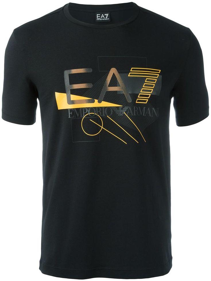 Ea7 Emporio Armani Camiseta com estampa