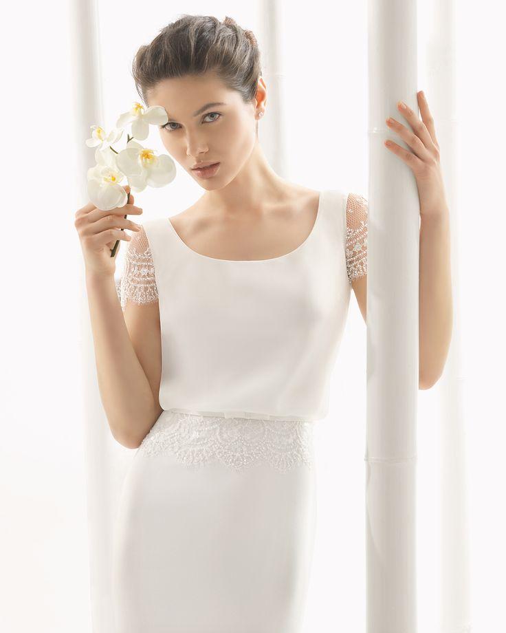 DIVÁN vestido de novia Rosa Clará 2016