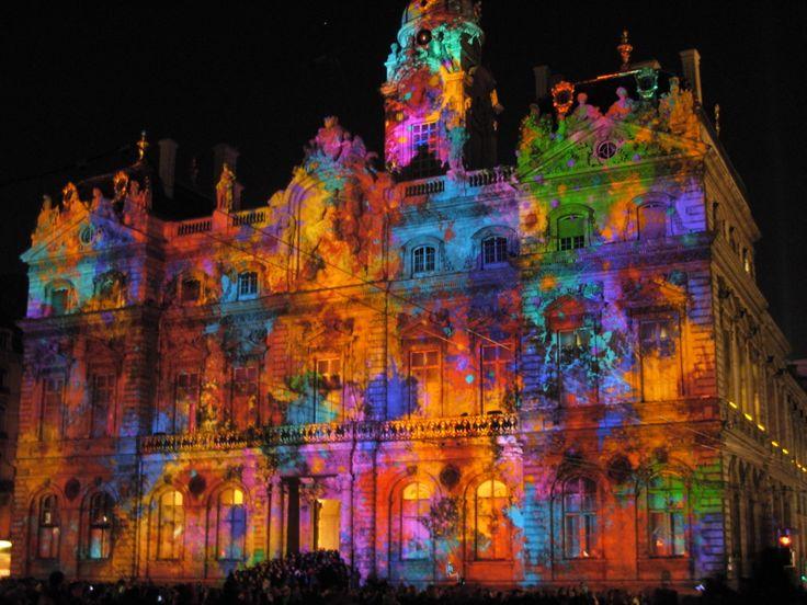 Lyon France   Fête des lumières ! Spécial 8 décembre