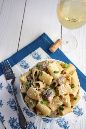 Mascarpone Mushroom Rigatoni - this is the closest recipe to Maggiano's Rigatono D that I've ever seen.