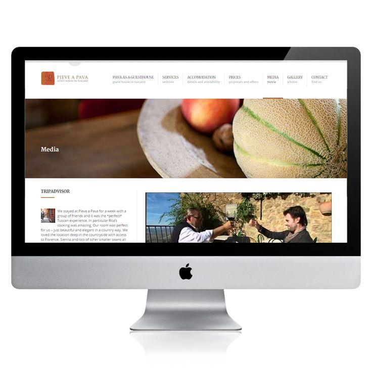 Wordpress, responsive , 5 Languages,  Media, rooms, news, booking sistem