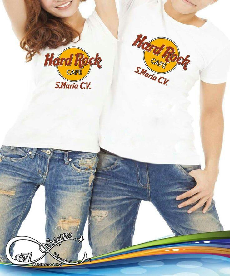 Hard Rock cafe con il nome della tua città #personalizza le tue #tshirt come vuoi tu! <3 #grafiche, #foto, #frasi divertenti.... da noi nessun limite alla fantasia!  #ilsognocreazioni