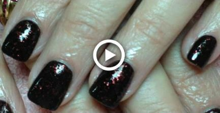 Acrylic Nails Tutorial: Short Squoval Square Nail Shape #nails #squovalnails
