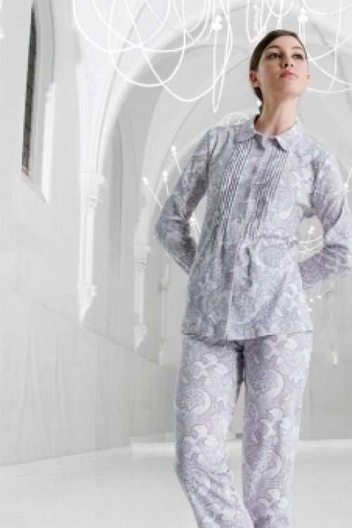 Pijama Egatex mujer Abierto modelo Fine - Homewear - Pijama mujer invierno http://www.perfumeriaelajuar.com/homewear/pijama-mujer-invierno-/30/