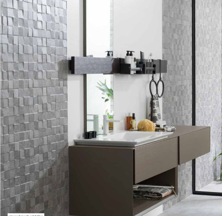 Porcelanosa rodano silver mosaico google search salle for Salle bain porcelanosa