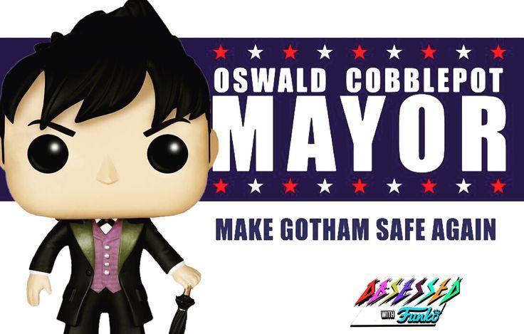 Happy 39th Birthday #Gotham #ThePenguin #OswaldCobblepot @robinlordtaylor  #obsessedwithfunkopopvinyls @OBSESSEDwithPOP @OriginalFunko