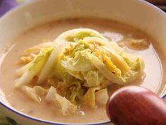 あったか★白菜のごま豆乳スープの画像