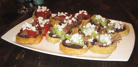 Sopes from Veracruz, or Picadas