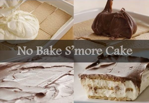 No Bake S'more Cake Recipe