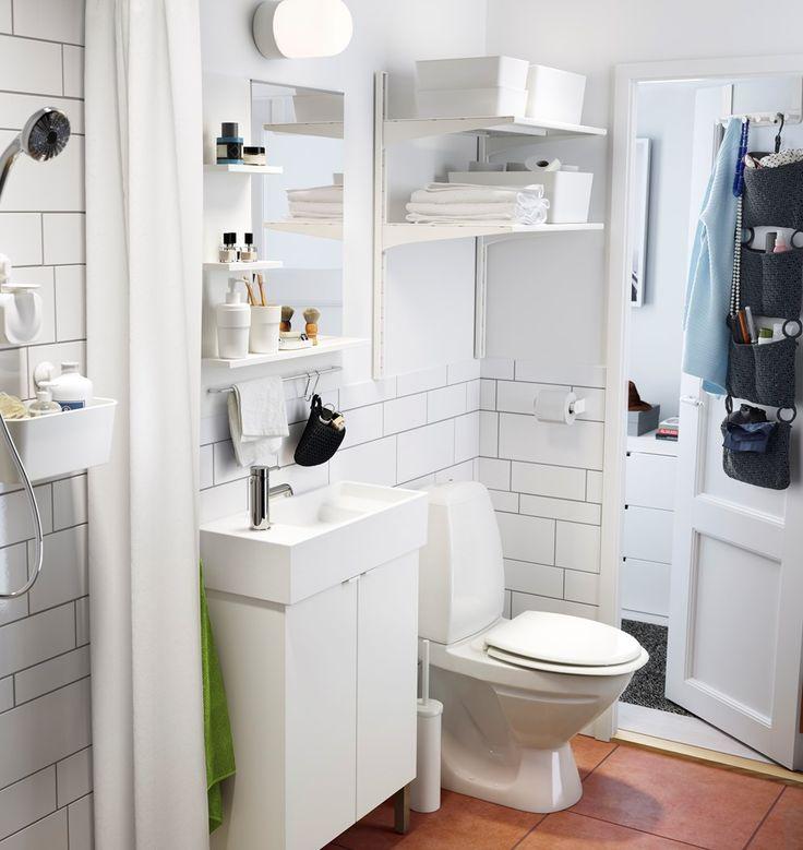 Łazienka - zdjęcie od IKEA - Łazienka - IKEA - Półki