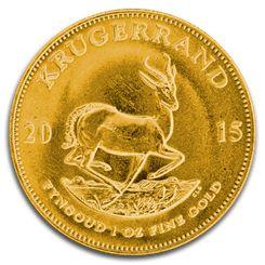 Buy Gold Krugerrand, 1 oz Gold Coin Krugerrand from Blanchard