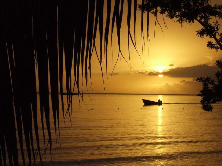 Jamaican sunset