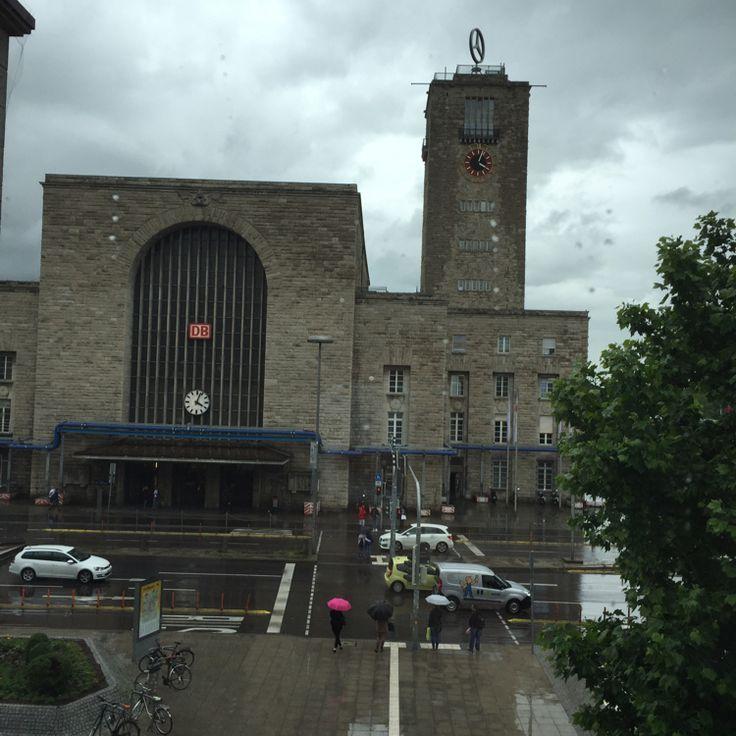 Stuttgart Hauptbahnhof in Stuttgart, Baden-Württemberg