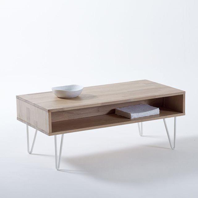 Table basse chêne, Adza