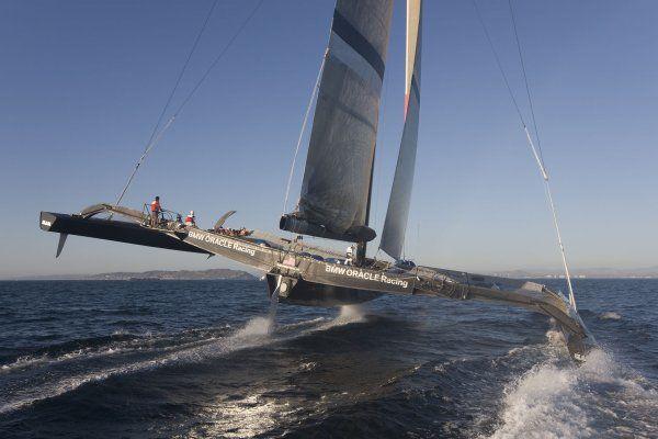 radical trimaran, Oracle race   Trimaran sailing ...