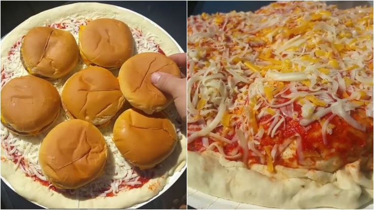 Madman Makes A McDonald's Cheeseburger-Stuffed Deep Dish Pizza