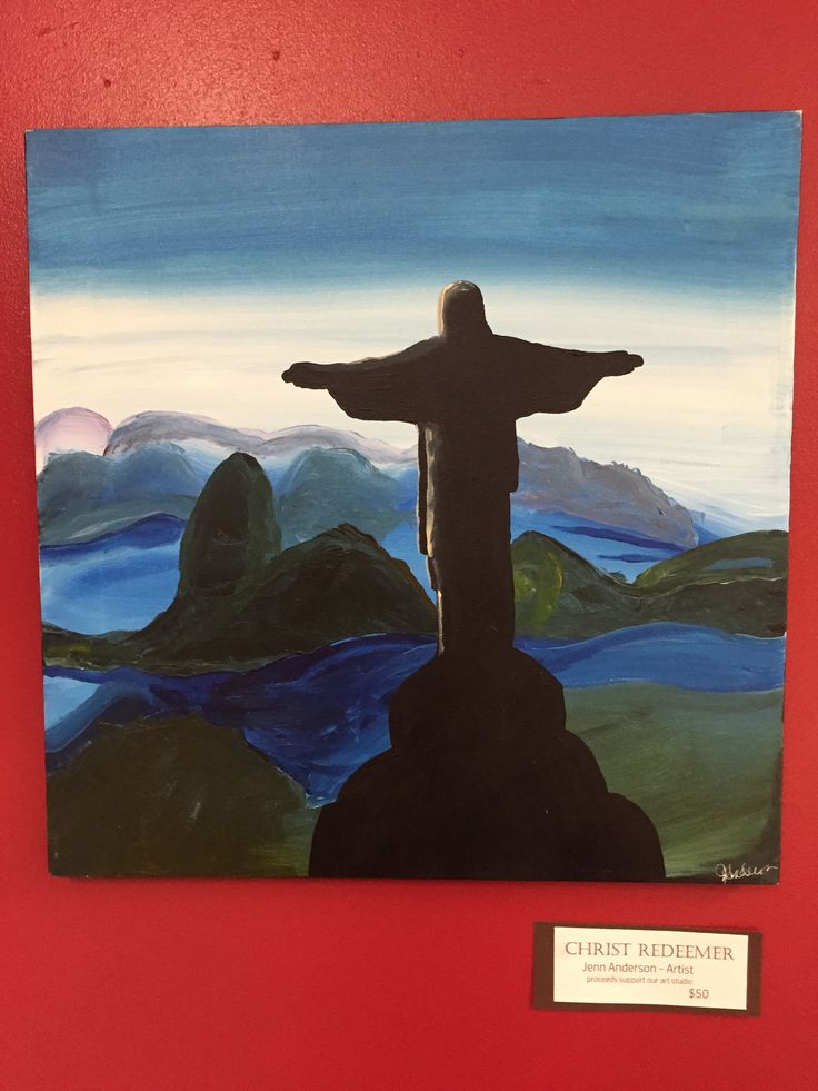 Christ the Redeemer - Jenn Anderson Come see all our artwork at The Least of These!