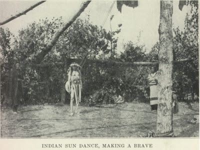 American Indian's History: Native Americans: Sioux (Mandan) Sun Dance and Torture