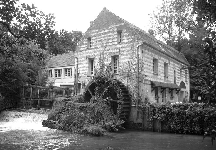 Mill, moulin. Normandy, France